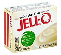 Jello White Choc Inst Pudding 3.3 Oz - 3.3 Oz