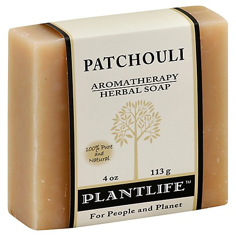 Plantlife Natural Body Care Soap - Patchouli, 4 Oz - 4 Oz