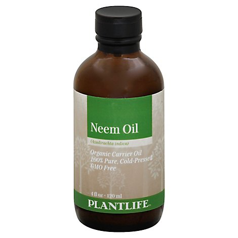 Plantlife Carrier Oil Neem Oil - Organic, 4 Fz - 4 Fl. Oz.