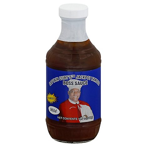 Captain Curt Mild Barbeque Sauce - 18 Oz
