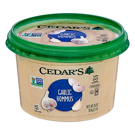Cedars Hummus Lovers Garlic Party - 16 Oz