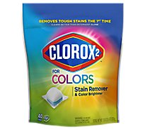 Clorox 2 Stain Remover & Color Booster Pods Pouch - 40 Count