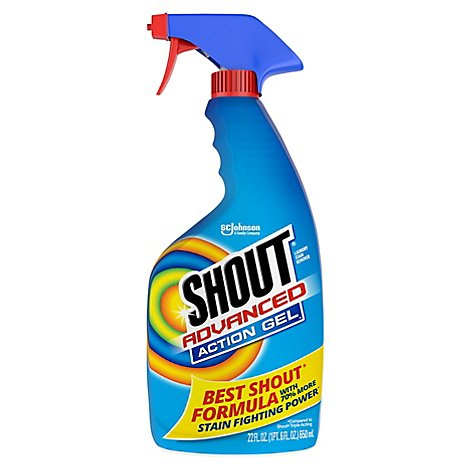 Shout Advanced Stain Remover Gel 22 oz