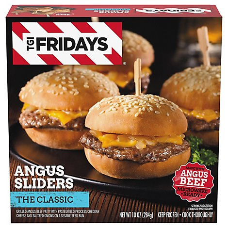 T.G.I. Friday Slider American All - 10 Oz