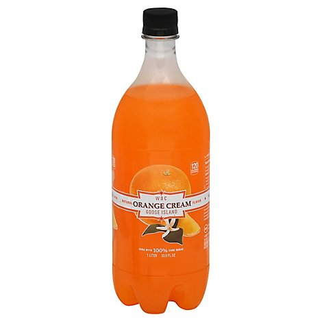 Wbc Orange Cream Soda - Liter