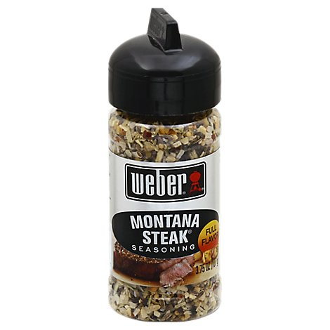 Weber Montana Steak Seasoning - 3.75 Oz