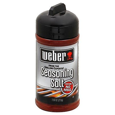 Weber Seasoning Salt - 7.5 Oz