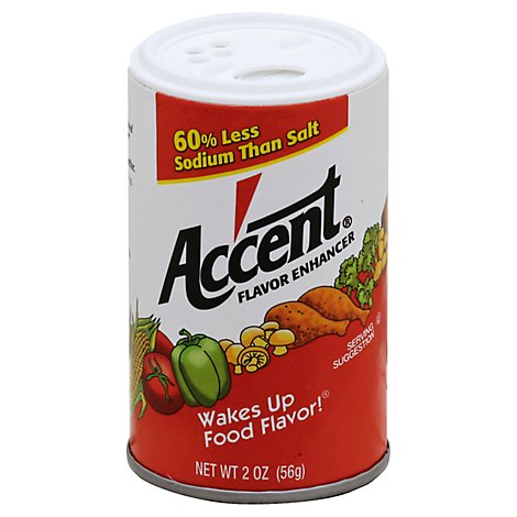 Accent Flavor Enhancer - 2 Oz