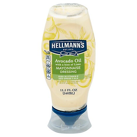 Hellmans Mayonnaise Dressing Avocado Oil - 11.5 Fl. Oz.