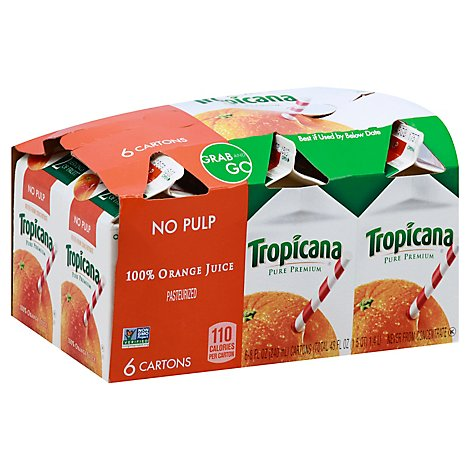 Trop Pure Premium Orange Juice - 6-8 Fz