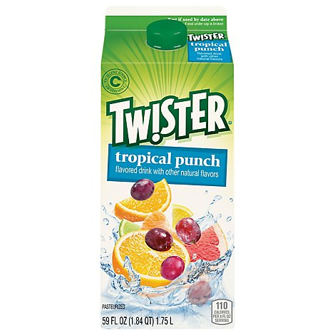 Tropicana Juice Beverage Tropical Punch - 59 Fz