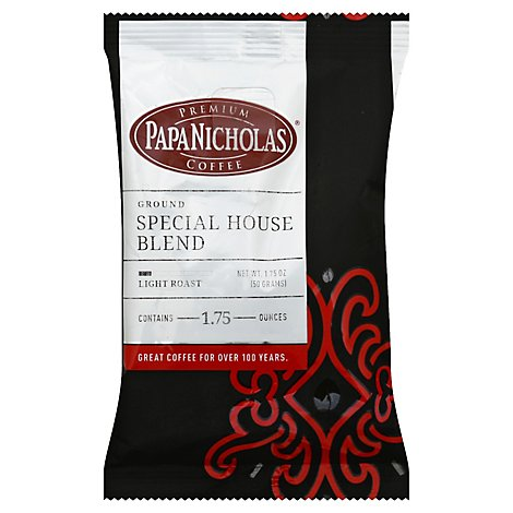 Papanicholas Special House Blend Ground Coffee - 1.75 Oz