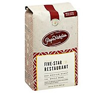 Papanicholas Five Star Restaurant Blend Whole Bean Coffee - 32 Oz