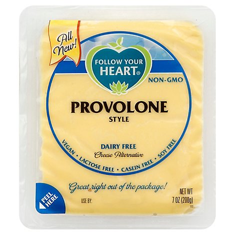 Follow Your Heart Cheese Alt Provolone Block - 7 Oz
