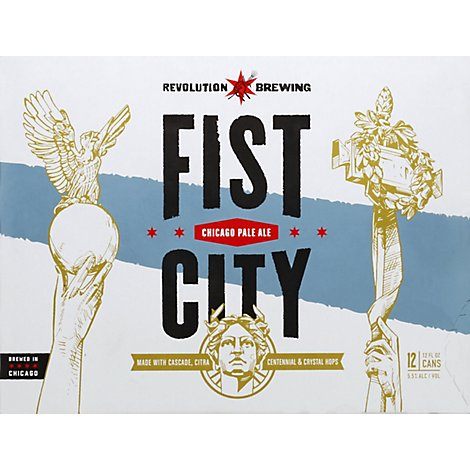 Revolution Fist City 12 Pack Cans - 12-12 Fl. Oz.