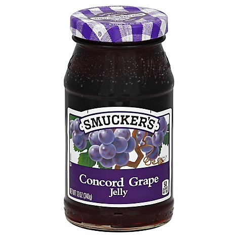 Smuckers Grape Jelly - 12 Oz