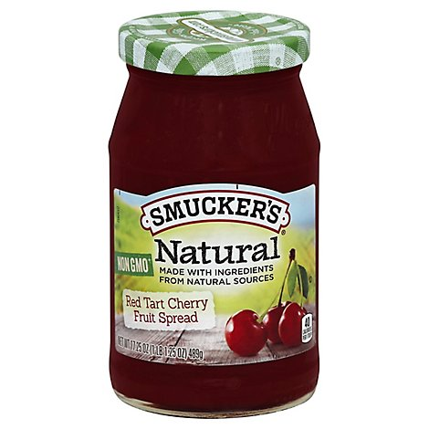 Smucker Natural Cherry - 17.25 Oz