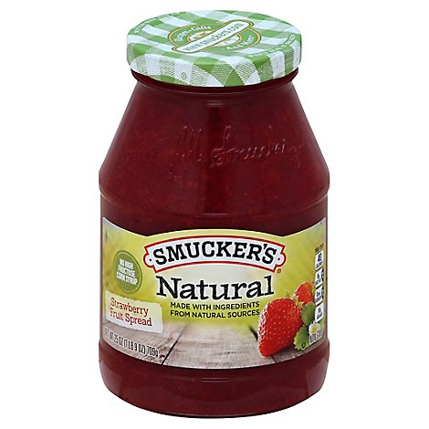 Smuckers Naturals Strawberry Spread - 25 Oz