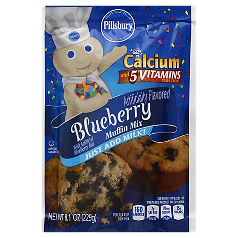 Plsb Bluebry Mfn Mix - 8.1 Oz