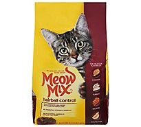 Meow Mix Cat Food Hairball Control - 50.4 Oz