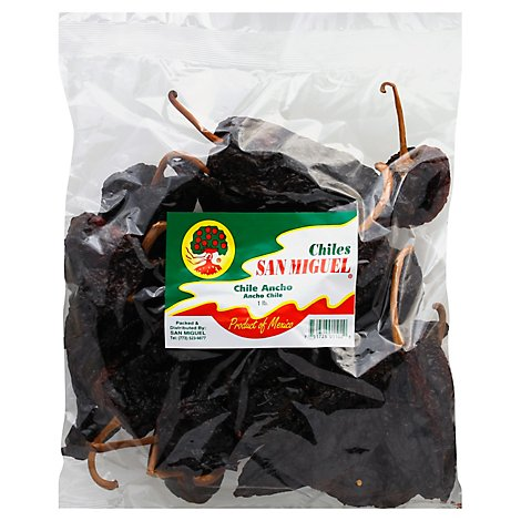 San Miguel Chile Ancho Chile Pepper, 16 Oz - 16 Oz