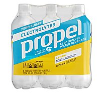 Propel Lemon Fitness Water - 6-16.9 Fl. Oz.