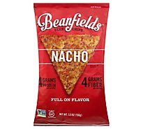 Beanfields Nacho Bean And Rice Chips - 5.5 Oz
