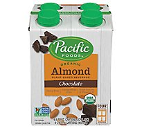 Pacific Natural Foods Low Fat Almond Chocolate Non Dairy Beverage, 32 Oz - 32 Oz