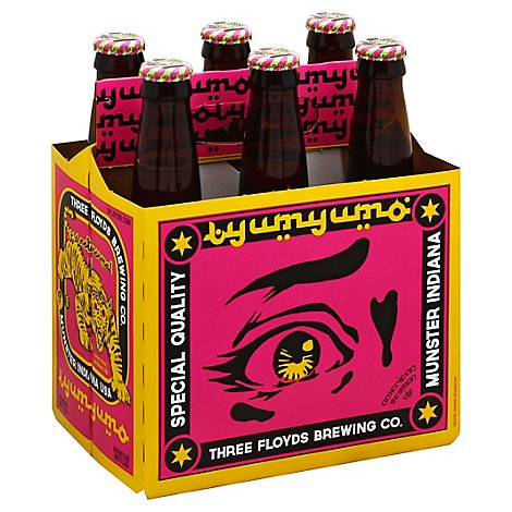 Three Floyds Yum Yum Bottles - 6-12 Fl. Oz.