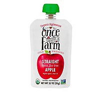 Once Uaf Apple Sauce - 3.2 Oz