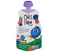 Once Uaf Smoothie Berry - 4 Oz