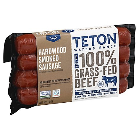 Teton Water Ranch Beef Sausage - 10 Oz