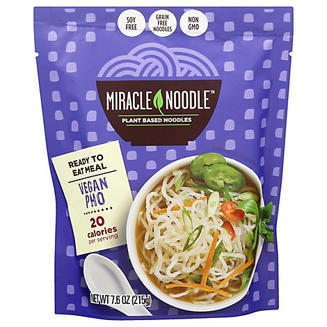 Miracle Noodle Ready To Eat Pho Shirataki Noodles - 6 Oz