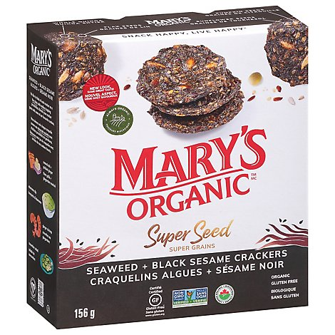 Marys Gone Crackers Swd & Blk Ssme Org - 5.5 Oz