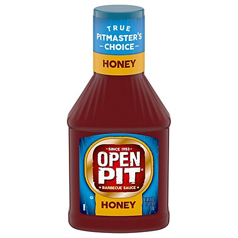 Open Pit Barbeque Honey Sauce - Each