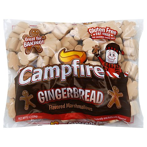 Camp Gingerbread Marshmellows - 8 Oz