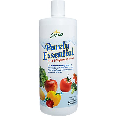 Environne Fruit & Vegetable  Produce Liquid Rinse - 32 Oz