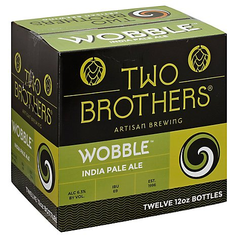 Two Brothers Wobble 12 Pack Bottles - 12-12 Fl. Oz.