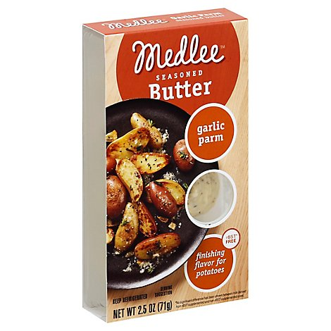 Medlee Garlic Parm Sn - 2.5 Oz
