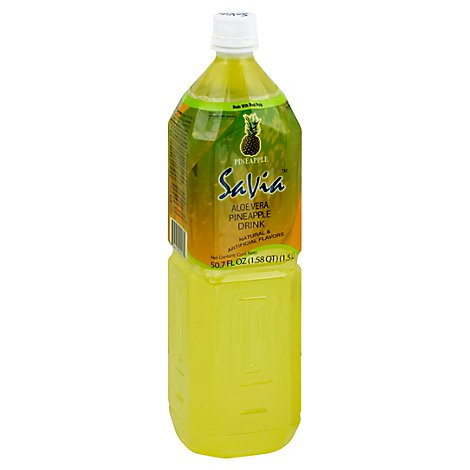 Savia Pineapple Aloe Vera Drink - 50.72 Fl. Oz.