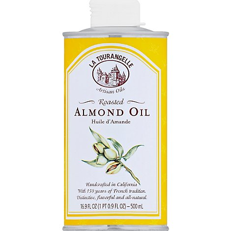 La Tourangelle Oil Almond Roasted - 16.9 Oz