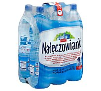 Naleczowianka Non Carbonated Water 6 Pack - 6-50.7 Oz