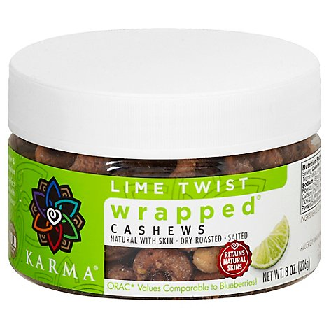 Karma Cashew Lime Wrapped - 8 Oz