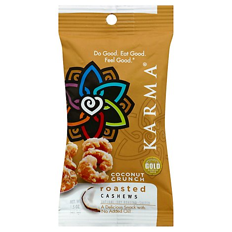 Karma Coconut Crunch Cashews - 1.5 Oz