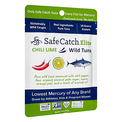 Safecatch Tuna Wld El - 2.6 Oz