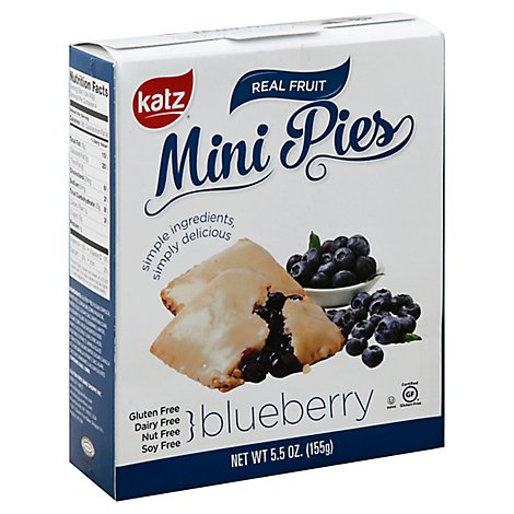 Katz Mini Blubry Pie - 5.5 Oz
