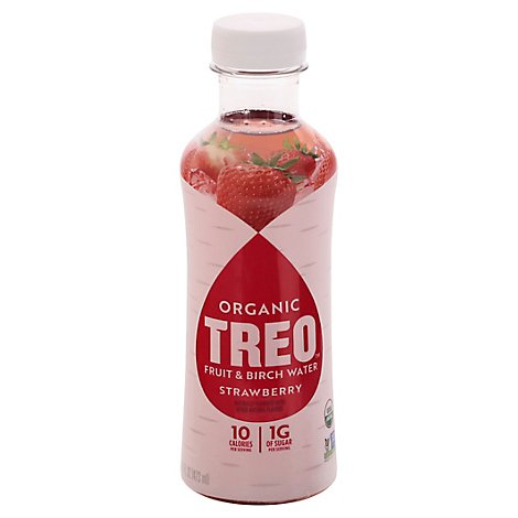 Treo Strawberry Water Birch Infusion - 16 Fl. Oz.