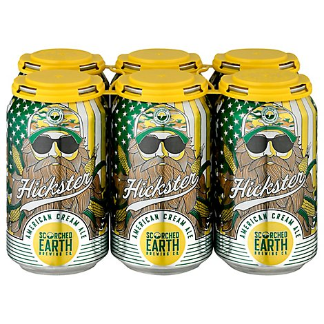 Scorched Earth Hickster Beer American Cream Ale Bottles - 6-12 Fl. Oz.