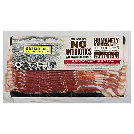 Greenfield Applewood Bacon Abf - 12 Oz