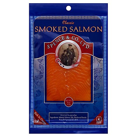 Spence Salmon Classic Smoked 4 Oz - 4 Oz